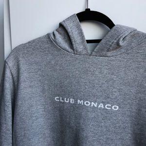 Club Monaco Vintage Grey Hoodie